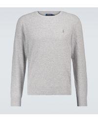 Polo Ralph Lauren Pullover aus Baumwolle - Grau