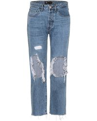 3x1 W3 Higher Ground Straight Jeans - Blue