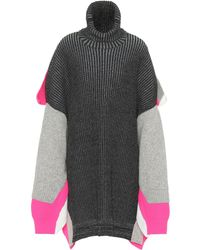 Balenciaga Jersey en mezcla de lana - Multicolor