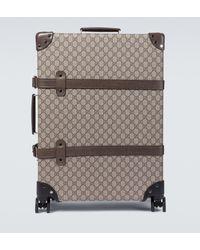 Gucci Maleta GG Globe-Trotter x - Neutro