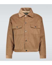 Éditions MR Versailles Biker Jacket - Natural