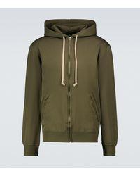 Comme des Garçons - Zipped Hooded Sweatshirt - Lyst