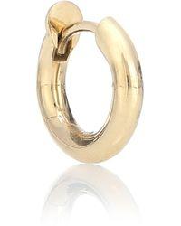 Spinelli Kilcollin Mini Microhoop 18kt Yellow Gold Single Earring - Metallic