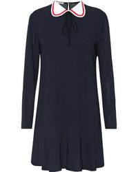 Miu Miu - Long-sleeved Minidress - Lyst
