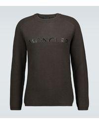 Moncler Wool-blend Jumper - Green