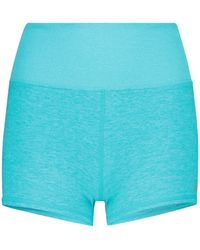 Alo Yoga - Shorts Aura de punto - Lyst