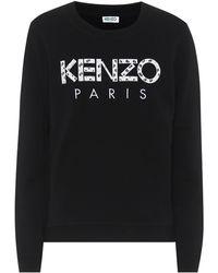 KENZO Sweatshirt aus Baumwolle - Schwarz