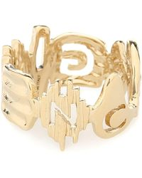 Givenchy Brass Ring - Metallic
