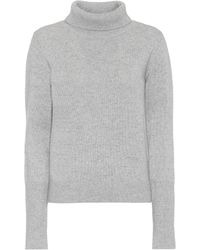 JOSEPH Cashmere-blend Pants - Grey