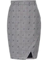 Altuzarra - Wilcox Plaid Wool-blend Skirt - Lyst