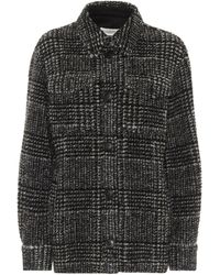 Étoile Isabel Marant Gastoni Checked Wool-blend Jacket - Black