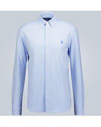 Polo Ralph Lauren Chemise Oxford à manches longues - Bleu