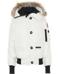 Canada Goose Fur-trimmed Chilliwack Jacket W/ Tags - White