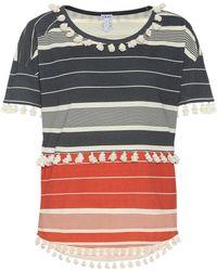 Loewe - Striped Cotton Top - Lyst