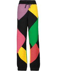 Palm Angels X Missoni – Pantalon de survêtement en laine mélangée - Multicolore