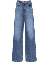J Brand X Elsa Hosk - Jeans Monday a vita alta - Blu