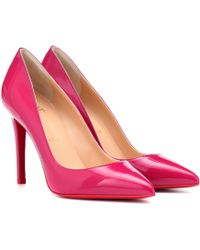 a0cfde43c0f Pigalle 100 Patent Leather Court Shoes - Pink
