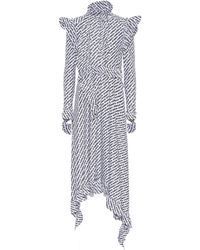 Vetements - Printed Stretch-jersey Dress - Lyst