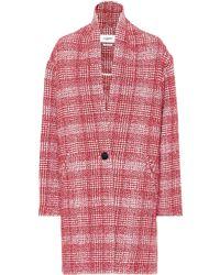 Étoile Isabel Marant - Ebrie Checked Wool-blend Coat - Lyst