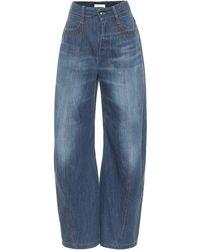 Chloé High-rise Wide-leg Jeans - Blue