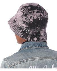 Off-White c/o Virgil Abloh Sombrero de pescador de jeans - Morado