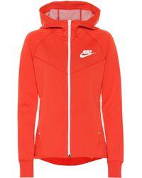 Nike Sportswear Windrunner Hoodie - Red