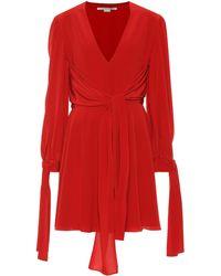 Stella McCartney Silk Minidress - Red