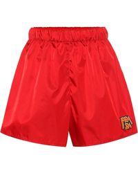 Prada - Nylon Shorts - Lyst