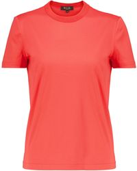 Loro Piana T-Shirt My-T aus Baumwolle - Rot