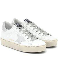 Golden Goose Deluxe Brand Zapatillas con motivo de estrella - Blanco