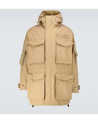 Visvim Krupa Wool And Linen Field Jacket - Natural