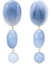 Lele Sadoughi - Bubble Drop 14kt Gold-plated Earrings - Lyst