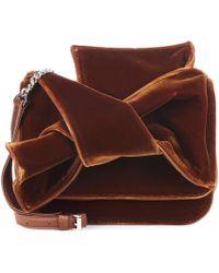 N°21 - Velvet Shoulder Bag - Lyst