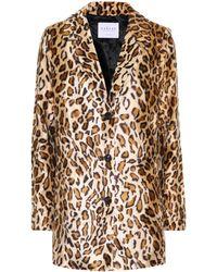 Velvet | Celine Faux Fur Blazer | Lyst