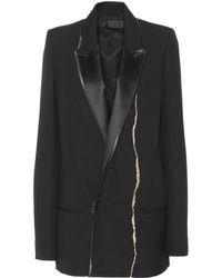 Haider Ackermann - Embroidered Wool Jacket - Lyst