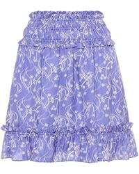 KENZO Printed Miniskirt - Blue