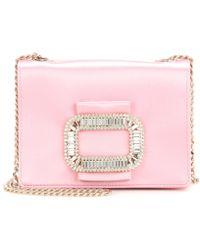 Roger Vivier - Tiffany Micro Embellished Shoulder Bag - Lyst