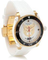 Gucci Reloj Dive 40mm - Blanco