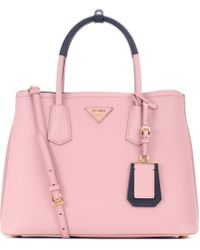 Prada | Galleria Saffiano Leather Tote | Lyst