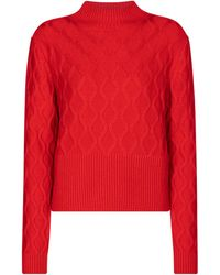 Perfect Moment - Carving Merino Wool Sweater - Lyst
