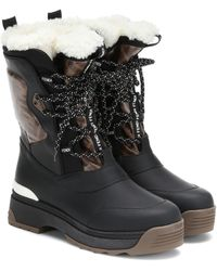 Fendi 'T-Rex' Hiking-Boots - Schwarz