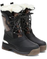 Fendi 'T-Rex' Hiking-Boots - Schwarz