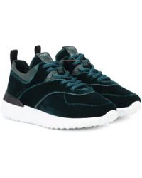 Tod's - Exclusive To Mytheresa – Velvet Sneakers - Lyst