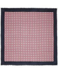 Gucci GG Modal And Silk Scarf - Pink