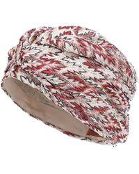 Missoni Turbante in maglia - Rosa