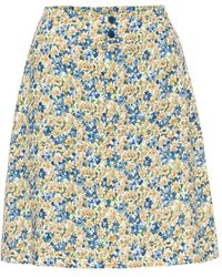 A.P.C. - Gonna Christa a stampa floreale - Lyst