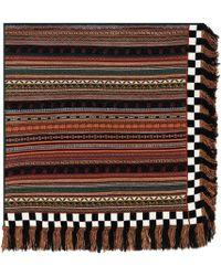 Etro - Striped Wool-blend Scarf - Lyst