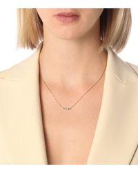 Suzanne Kalan Halskette Fireworks aus 18kt Gold mit Diamanten - Mettallic