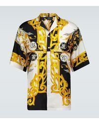 Versace Baroque Printed Shirt - Multicolor