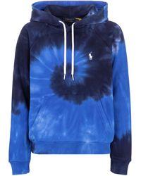 Polo Ralph Lauren Hoodie aus Baumwolle - Blau